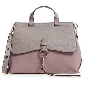 Grey Rebecca minkoff keith satchel